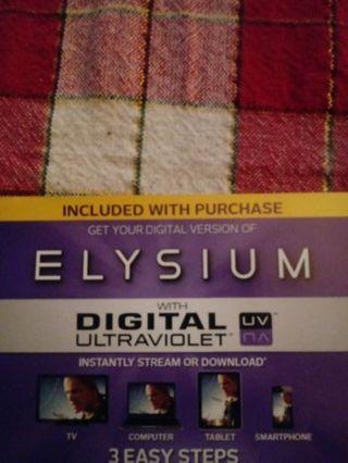 Elysium VUDU Code