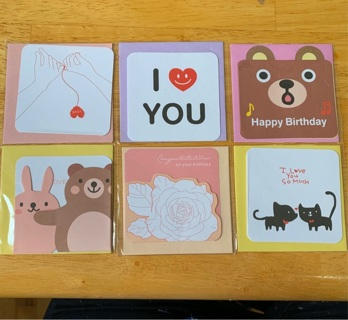 Kawaii Greeting Cards