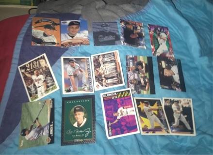 Massive Cal Ripken Jr Baseball card Lot! 110 cards Total!!!!