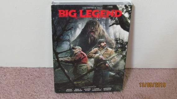 Big Legend DVD, NEW in Package