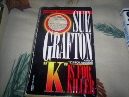 K is for Killer by Sue Grafton pb