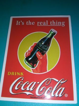 Coca Cola new vinyl lab top sticker lowest gins and great deals! No refunds!