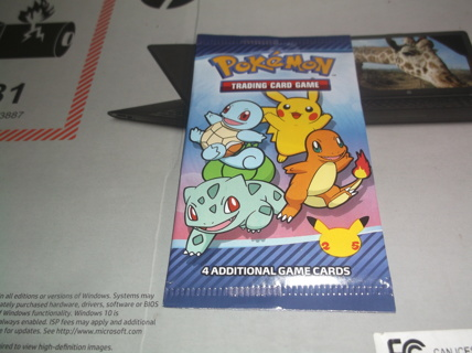 UNOPENED MCDONALD'S POKEMON CARD PACK