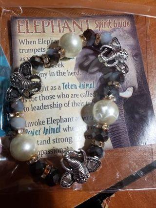1 elephant bracelet