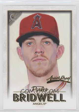 2018 Topps Gallery Artists Proof #47 Parker Bridwell