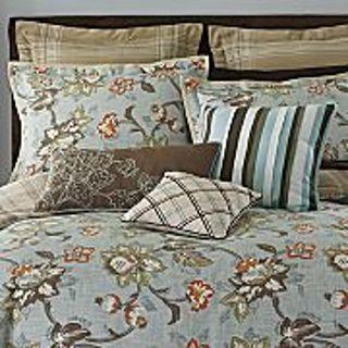 Free Linden Street Cal King Aqua Floral Comforter Set Other Home