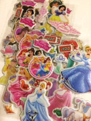 Kawaii Princess stickers