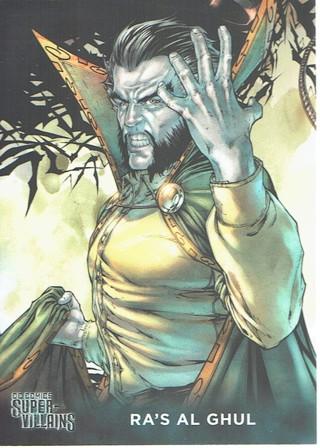DC Comics Super Villains Collectible Card Ra's Al Ghul #50