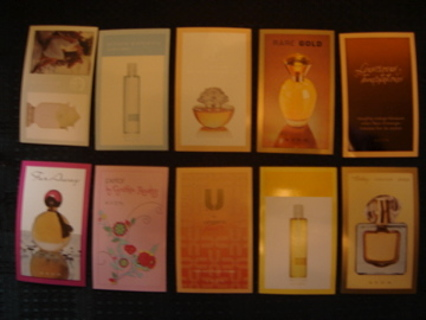 10 Avon Perfume Samples