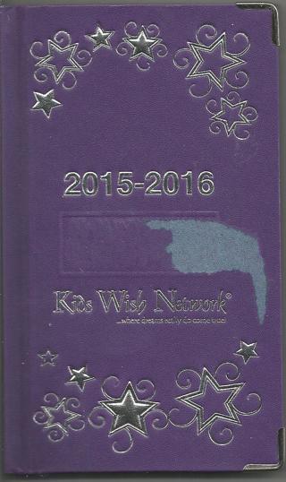 Pocket Size Calendar Book 2015-2016