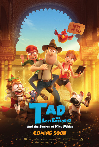 tad the lost explorer and the secret of king midas (HD) (Itunes redeem ONLY)