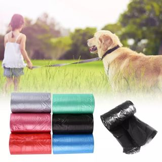 20PCS/Roll Pet Dog Waste Poop Bag Hygiene Cleaning Supplies Eco-Friendly