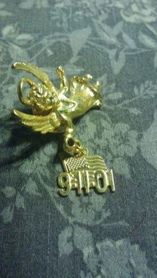 911 Angel pin