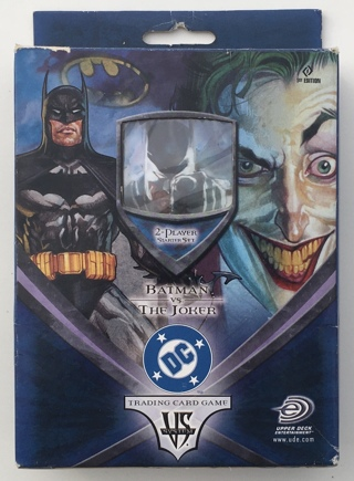 Batman vs. The Joker DC Comics / Upper Deck Trading Card Game 2-Player Starter Set 1st Edition