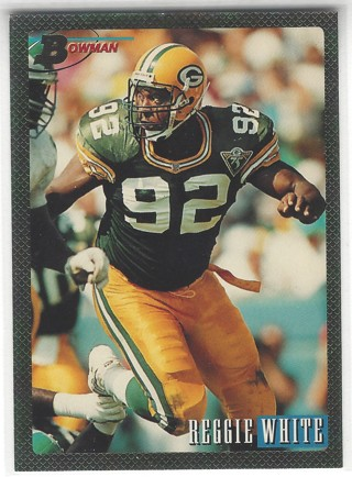 Reggie White 1993 Bowman FOIL #110 Green Bay Packers HOF