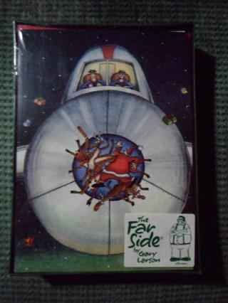 Far Side Christmas Cards