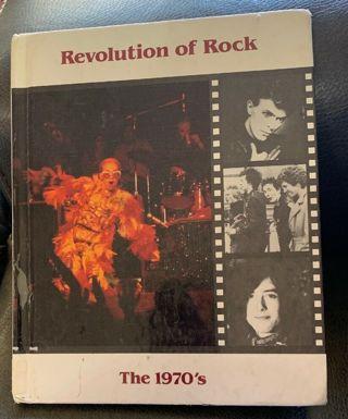 History Of Rock & Roll Revolution Of Rock The 1970s Stuart A Kallen 1989 HB Book