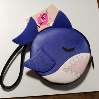 SHARK!, Betsey Johnson Coin Purse, NWT