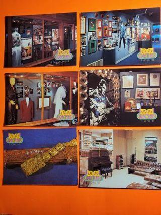 6 Elvis 1992 Graceland Cards