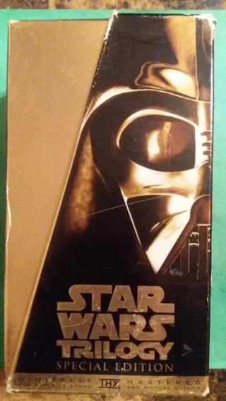 VHS movie set  starwars trilogy   free shipping