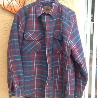 Free Men S Heavyweight Plaid Flannel Shirt Jacket By St John S Bay Size Xlt Men S Clothing