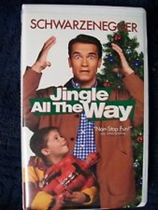 vhs christmas movie jingle all the wayarnold schwarzenegger fights for special - Arnold Christmas Movie