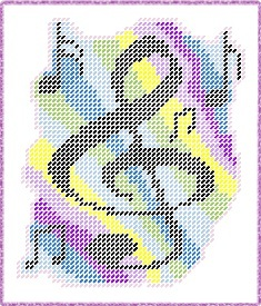 Free Musical Note Wallhanging Plastic Canvas E Pattern