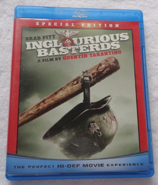 Inglourious Basterds Bluray Disc 2-Disc Set Special Edition Drama Action Adventure War Dark Comedy