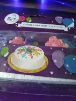 Birthday Candle`s For Girl