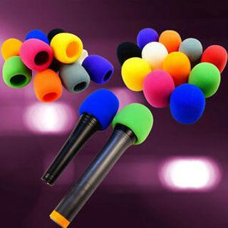 Shield Karaoke 5 Colors DJ Microphone Wind Shield Filter Foam Mic Cover