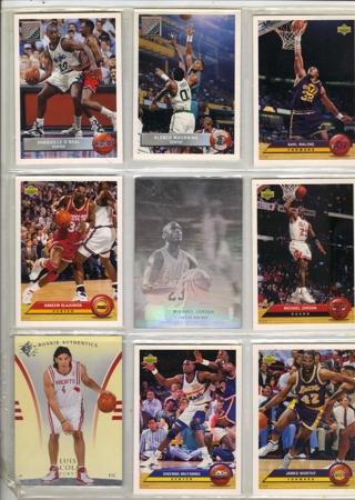 9  NICE BASKETBALL CARDS