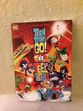 NEW DC Teen Titans GO vs Teen Titans
