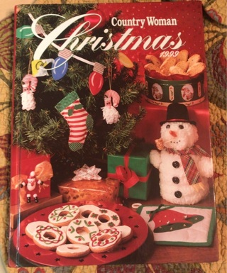 Country Woman Christmas cookbook and craft book 1999