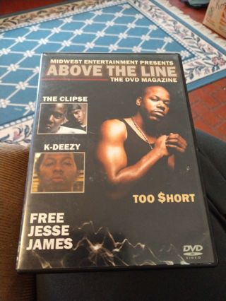 Above the Line DVD