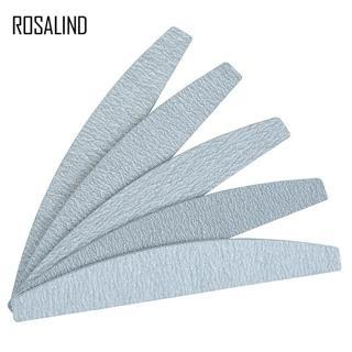 ROSALIND 5PCS/SET Nail Files Set Full Professional Pedicure Manicure Polishing Polish Beauty Tools