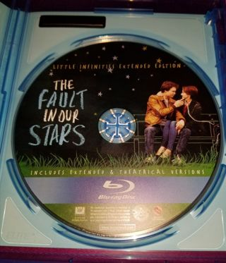 ***A FAULT IN THE OUR STARS BLU RAY***