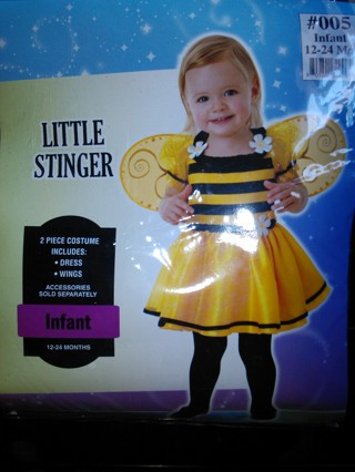 Free Toddler Girl Bumblebee Costume Size 18 24 Month Baby Clothes