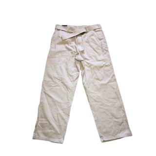 BEVERLY HILLS Belted Khaki Pants 34x30