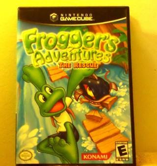 NINTENDO GAMECUBE™ Froggers Adventures THE RESCUE™