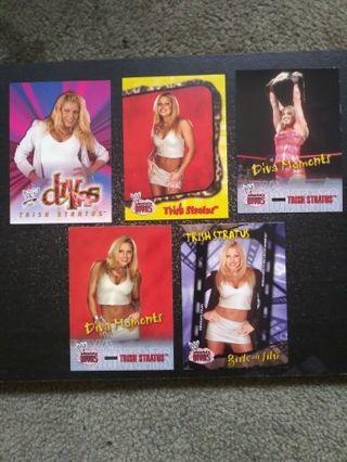 WWF/WWE Trish Stratus Lot of 5