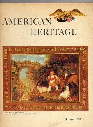 Vintage American Heritage Hard Covered Book: December 1963