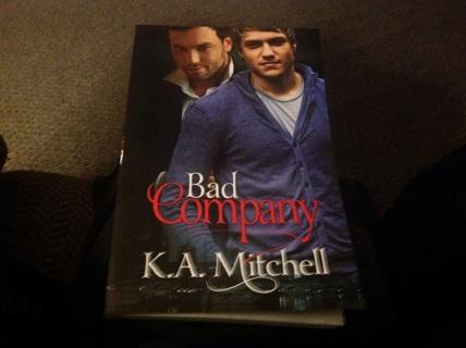 NOVEL- BAD COMPANY by K.A.MITCHELL