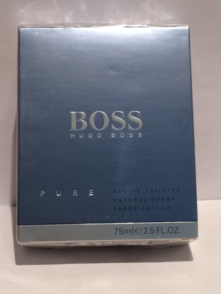 Hugo Boss  Pure  EDT  Natural Spray 75 ml -2.5 Fl. Oz.