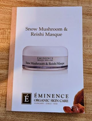 Eminence Organic Skin Care - Snow Mushroom & Reishi Masque - SAMPLE