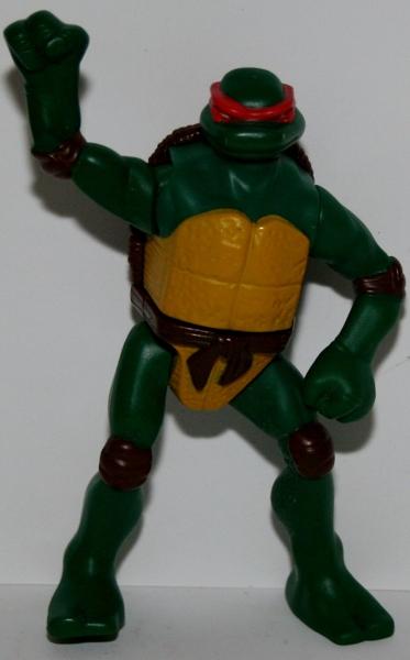Free 2007 Teenage Mutant Ninja Turtles Raphael Action Figure