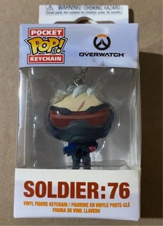 Pocket POP! Keychain soldier 76
