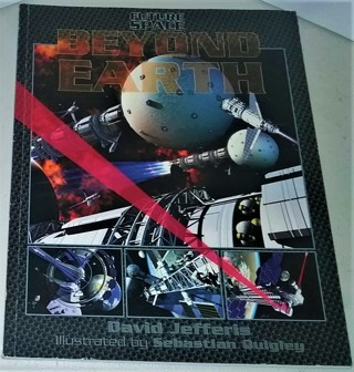 "2001 ""Future Space Beyond Earth"" softcover - 48 pages - the future of space in photos & computer art"