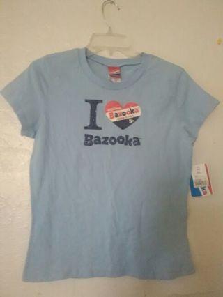 New bazooka gum t-shirt