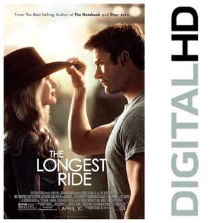 ✯The Longest Ride (2015) Digital HD Copy/Code✯