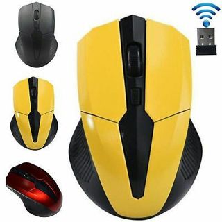 2.4ghz Wireless Optical Cordless Mouse USB Receiver for PC Computer Laptop NS